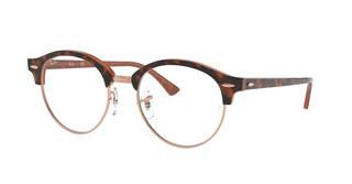 Ray-Ban RX4246V 5884 TOP HAVANA ON BROWN
