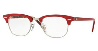 Ray-Ban RX5154 5651 RED ON TEXTURE CAMUFLAGE
