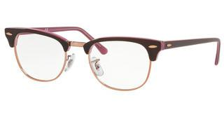 Ray-Ban RX5154 5886 TOP BROWN ON OPAL PINK