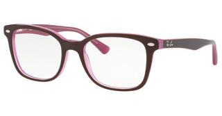 Ray-Ban RX5285 2126 TOP BROWN ON OPAL PINK