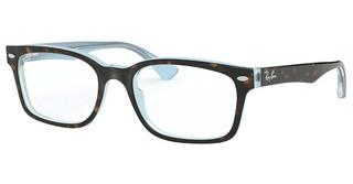 Ray-Ban RX5286 5883 TOP HAVANA ON LIGHT BLUE