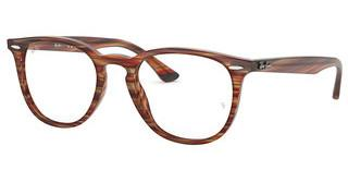 Ray-Ban RX7159 5751 BROWN BEIGE STRIPPED