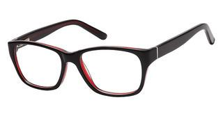 Sunoptic A96 A Black/Clear Burgundy