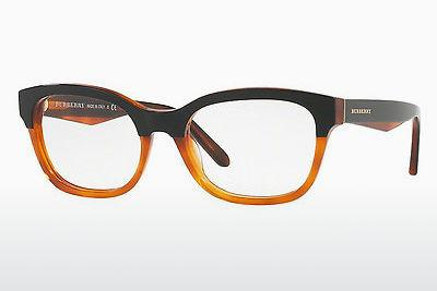 Designer briller Burberry BE2257 3650 - Sort, Orange
