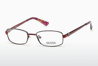 Designer briller Guess GU2524 070 - Bourgogne, Bordeaux, Matt