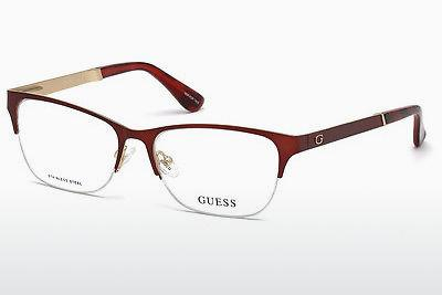 Designer briller Guess GU2627 070 - Bourgogne, Bordeaux, Matt