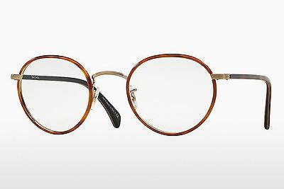 Designer briller Paul Smith KENNINGTON (PM4073J 5236) - Orange, Brun, Havanna, Guld
