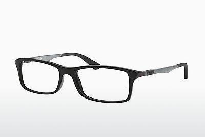 Designer briller Ray-Ban RX7017 2000 - Sort