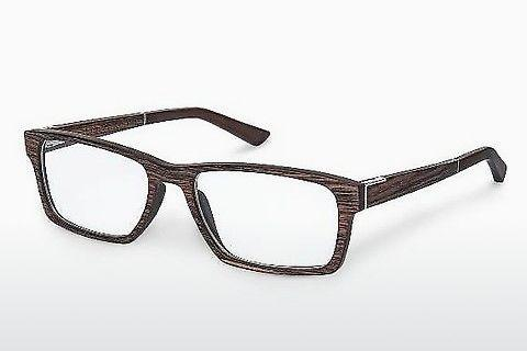Designer briller Wood Fellas Maximilian (10901 ebony)