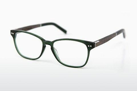 Designer briller Wood Fellas Sendling Premium (10937 grey oak/crystal green)