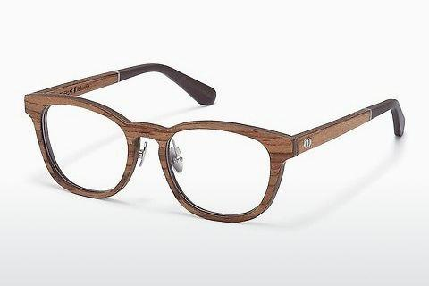 Designer briller Wood Fellas Falkenstein (10950 zebrano)