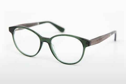 Designer briller Wood Fellas Haldenwang (10972 grey oak/crystal green)