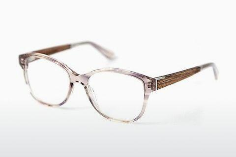 Designer briller Wood Fellas Rosenberg Premium (10993 macassar/smoked grey)