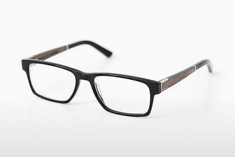 Designer briller Wood Fellas Maximilian (10999 black oak/black)