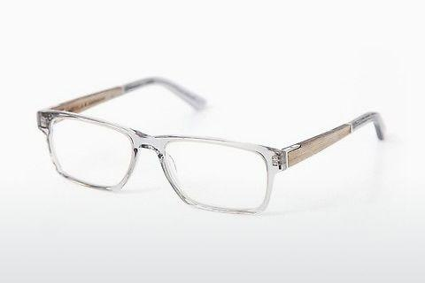 Designer briller Wood Fellas Maximilian (10999 oak/crystal grey)