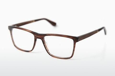 Designer briller Wood Fellas Wildenwart (11003 walnut/crystal brw)