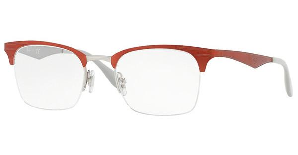 Ray-Ban   RX6360 2921 SILVER TOP RED