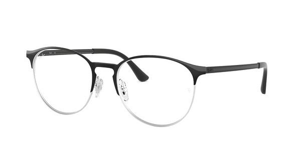 Ray-Ban   RX6375 2861 SILVER ON TOP BLACK