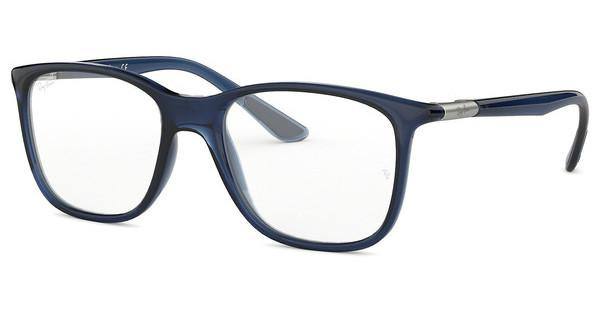 Ray-Ban   RX7143 5752 TRASPARENT BLUE