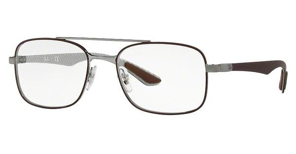 Ray-Ban   RX8417 2952 GUNMETAL ON MATTE BROWN