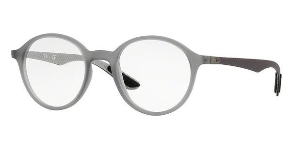 Ray-Ban   RX8904 5244 MATTE TRASPARENT GREY
