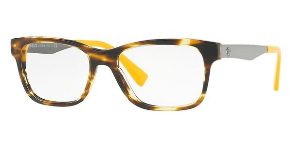 Versace   VE3245 5236 STRIPED HAVANA/YELLOW