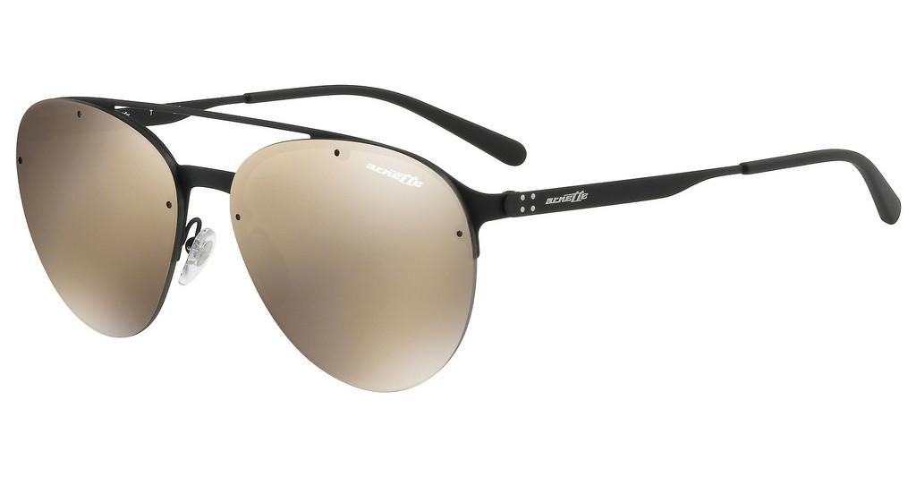 Arnette   AN3075 696/5A LIGHT BROWN MIRROR GOLDBLACK RUBBER