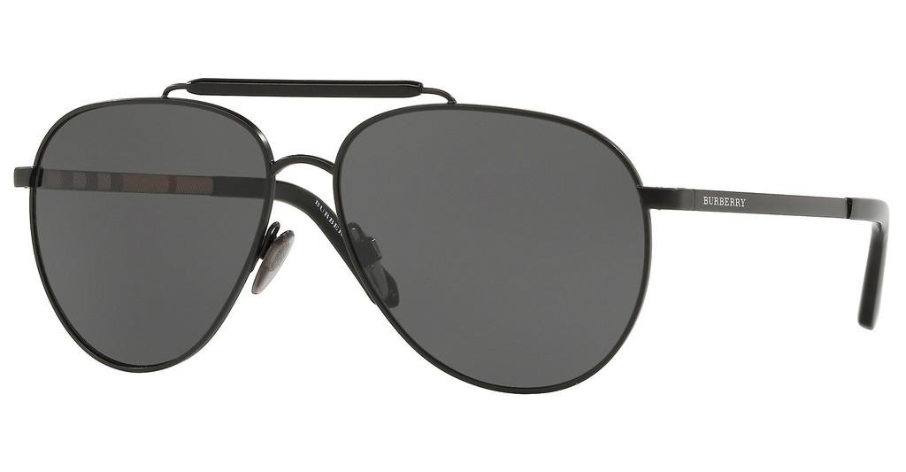 Burberry   BE3097 10075V GREYMATTE BLACK