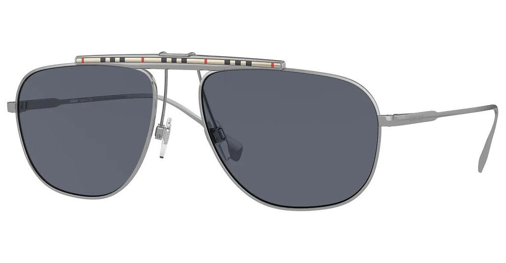 Burberry   BE3121 100387 BLUEGUNMETAL