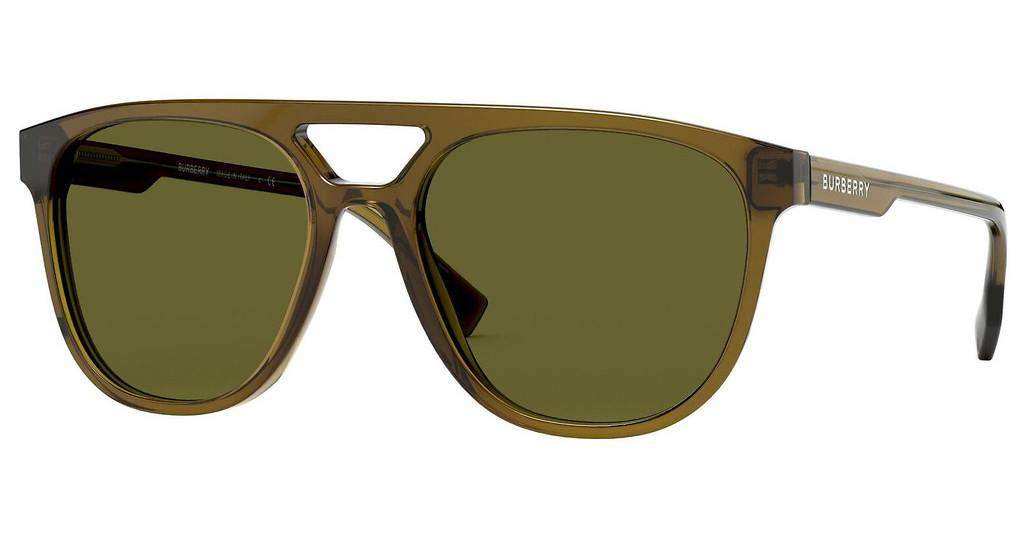 Burberry   BE4302 335673 BROWNOLIVE GREEN