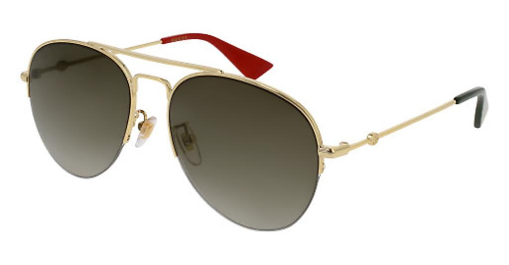 Gucci   GG0107S 007 BROWNGOLD