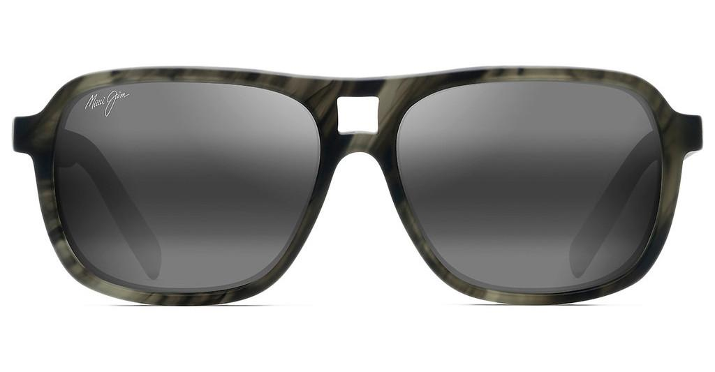 Maui Jim   Little Maks 771-15SM Neutral GreyMatte Green Smoke