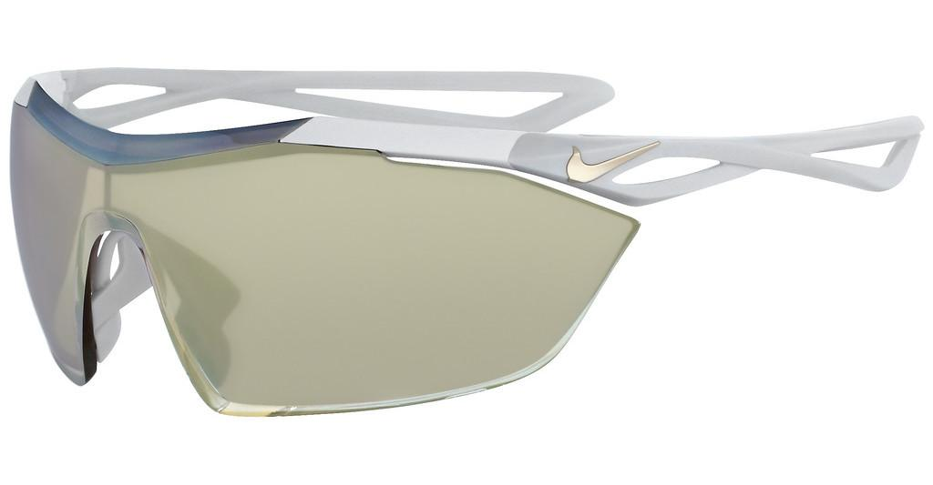 Nike   NIKE VAPORWING ELITE M EV0913 100 MATTE WHITE WITH SPEED TINT W/SILVER TO GOLD FLASH  LENS