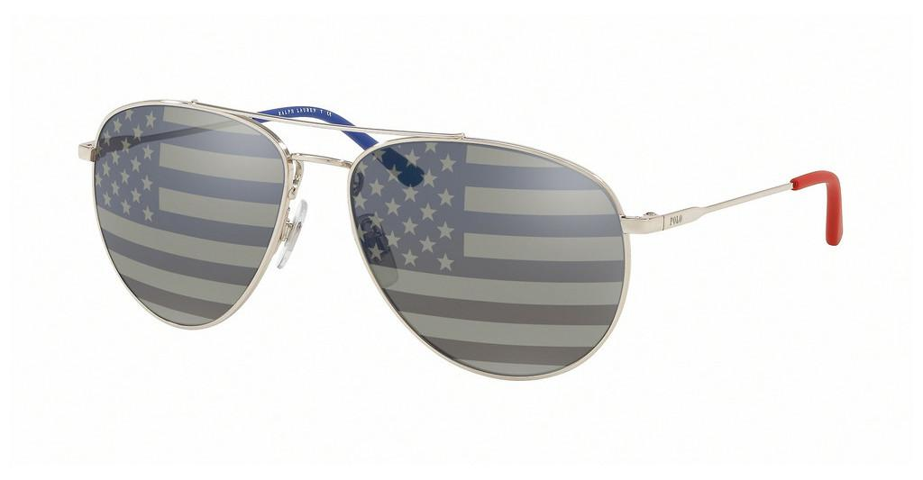 Polo   PH3111 9001V4 GREY TAM AMERICAN FLAG SIL/BLUSILVER