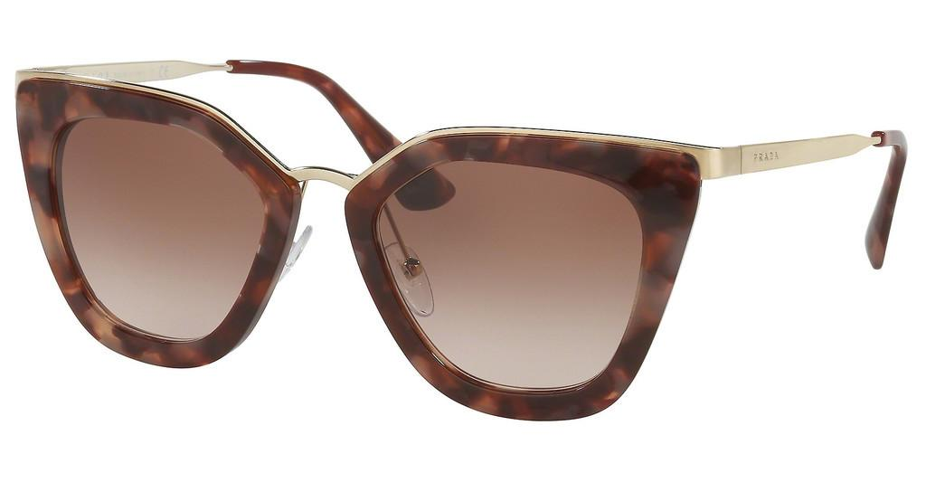 Prada   PR 53SS UE00A6 BROWN GRADIENT PINKSPOTTED BROWN PINK
