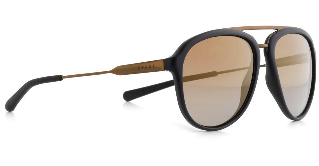 SPECT   PALMBEACH 001P brown gradient with gold flash POLblack