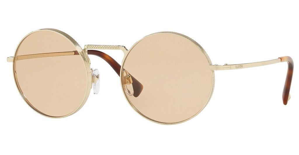 Valentino   VA2024 300373 LIGHT BROWNLIGHT GOLD