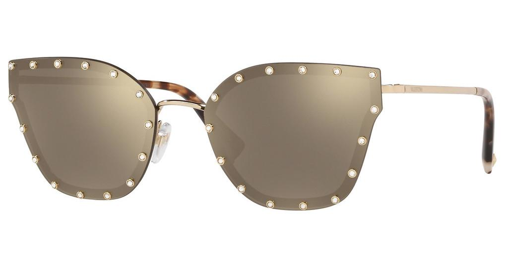 Valentino   VA2028 30035A MIRROR GOLDLIGHT GOLD