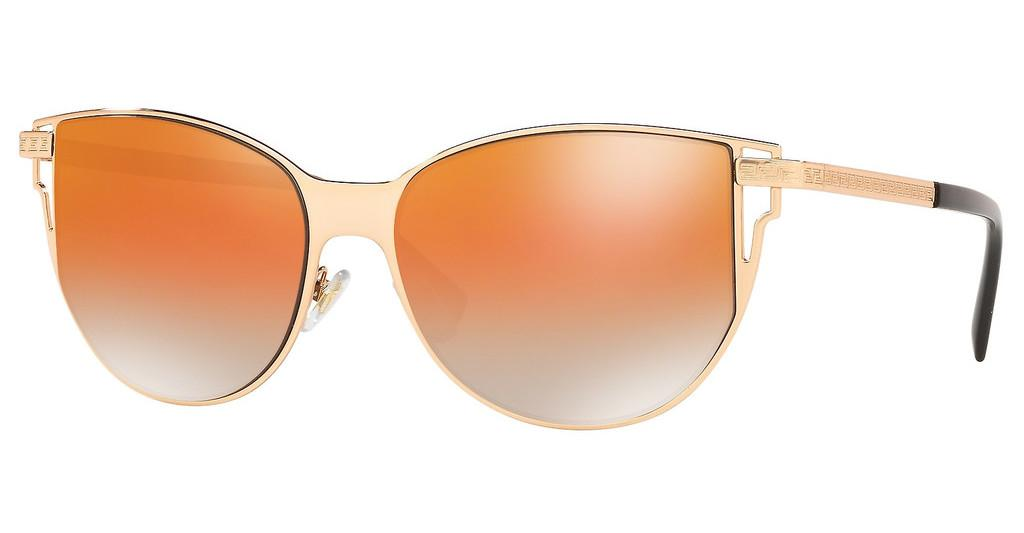 Versace   VE2211 1412I4 GREY MIRR ROSE GOLD GRAD ORANROSE GOLD