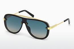 Solbriller Dsquared DQ0271 01W - Sort, Shiny