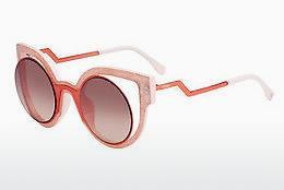 Solbriller Fendi FF 0137/S NUG/4C - Orange, Rosa