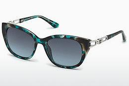 Solbriller Guess GU7562 87W - Blå, Turquoise, Shiny