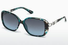 Solbriller Guess GU7563 87W - Blå, Turquoise, Shiny
