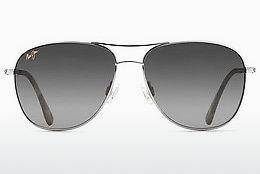 Solbriller Maui Jim Cliff House GS247-17 - Sølv