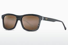 Solbriller Maui Jim Hula Blues H710-72 - Sort