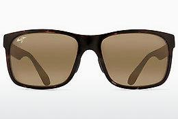 Solbriller Maui Jim Red Sands H432-11T - Sort, Grå, Havanna