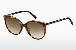 Solbriller Max Mara MM TUBE II 581/HA - Sort, Brun, Havanna
