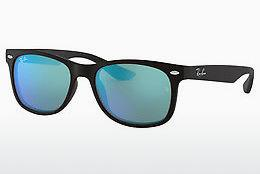 Solbriller Ray-Ban Junior Junior New Wayfarer (RJ9052S 100S55) - Sort