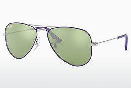 Solbriller Ray-Ban Junior Junior Aviator (RJ9506S 262/30) - Sølv, Purpur