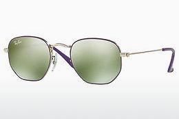 Solbriller Ray-Ban Junior JUNIOR HEXAGONAL (RJ9541SN 262/30) - Sølv, Purpur